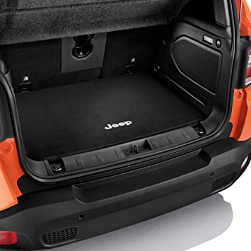 Jeep Genuine Renegade Cargo Loading Protection Boot Matt Black With