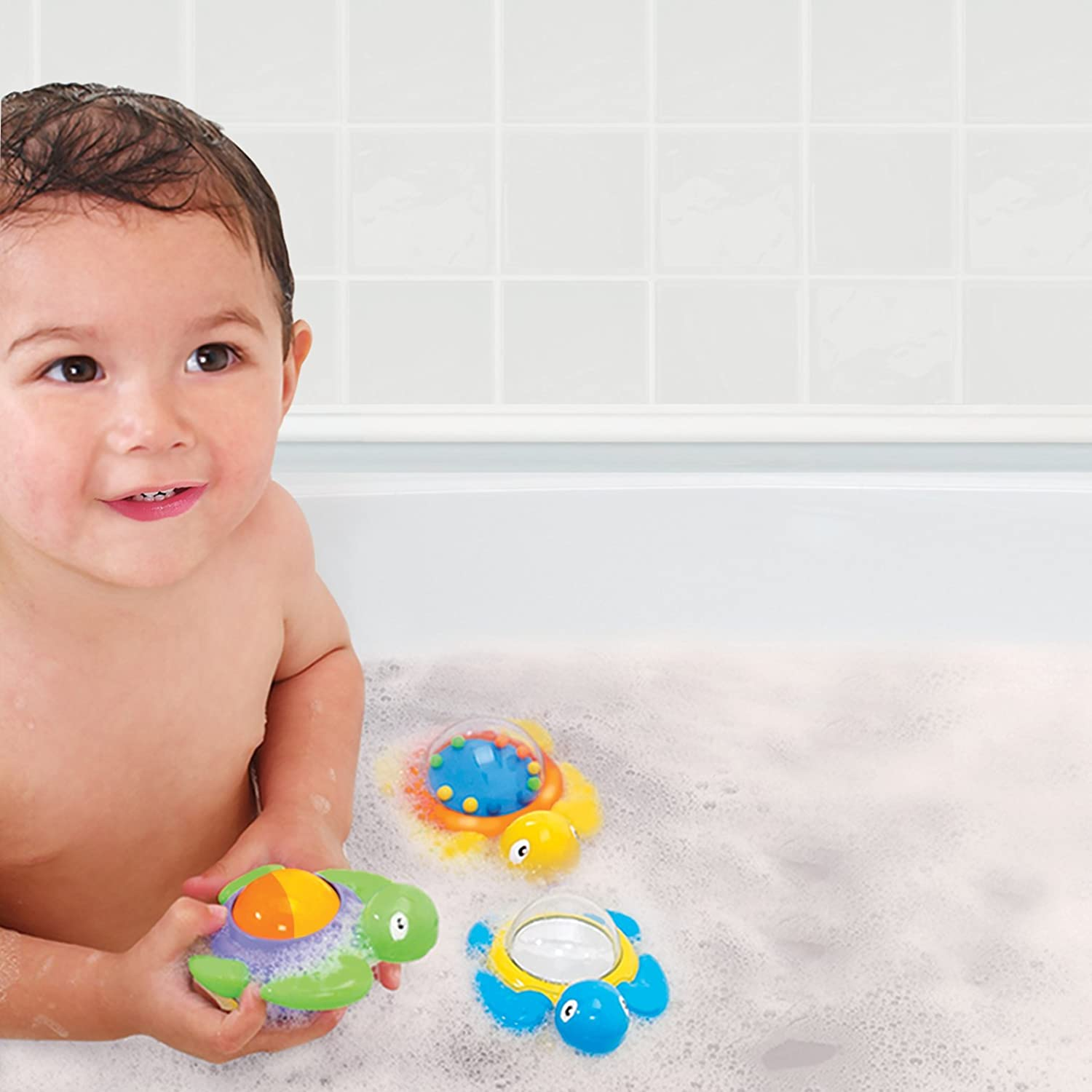 Amazon Munchkin Baby Bath Toy Turtles Bathtub Toys Baby