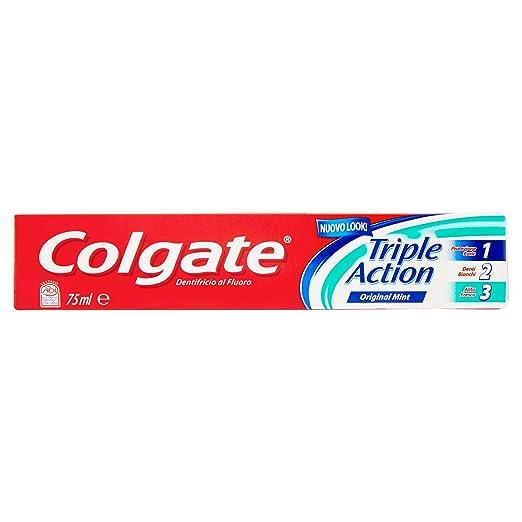 19 opinioni per Colgate- Dentifricio Triple Action, Protezione Carie, Denti Bianchi, Alito