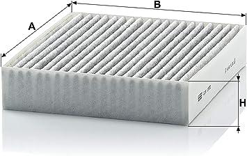 Original Mann Filter Innenraumfilter Cuk 1830 Pollenfilter Mit Aktivkohle Für Pkw Auto