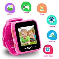Toys for 3-8 Year Old Girls Pussan Smart Watches for Kids Toddler Watch with Camera...