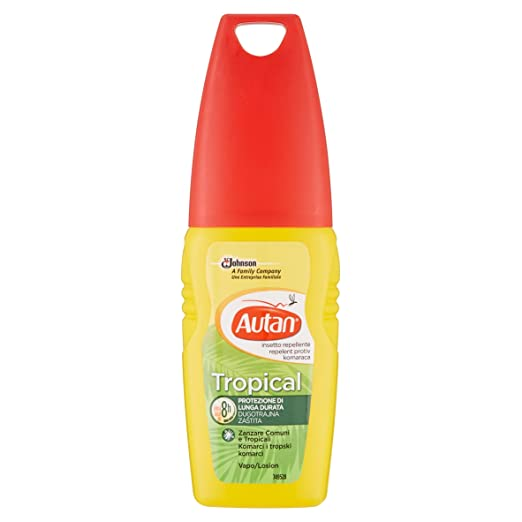 47 opinioni per Autan Tropical Vapo Repellente- 100 ml