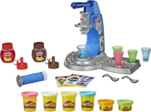 Play-Doh Kitchen Creations Drizzy Ice Cream Playset Featuring Drizzle Compound & 6 Non-Toxic Colors