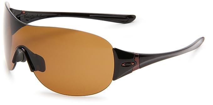 3ab8c9bf6f Amazon.com  Oakley Women s Miss Conduct Polarized Round Sunglasses ...
