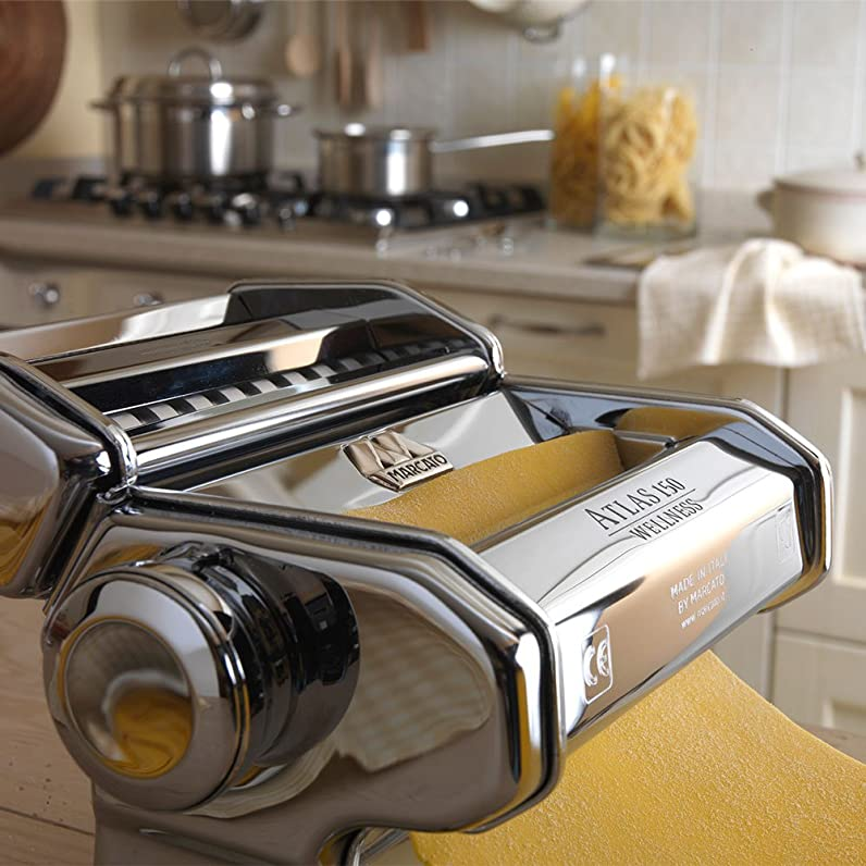 Marcato Atlas Wellness 150 Pasta Maker, Stainless Steel: Amazon.ca ...