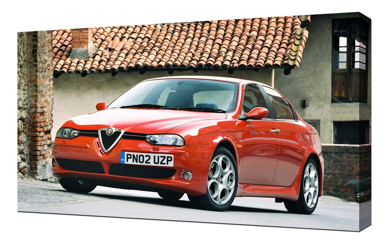 Amazon Com Lilarama Usa 2002 Alfa Romeo 156 Gta V4 Canvas