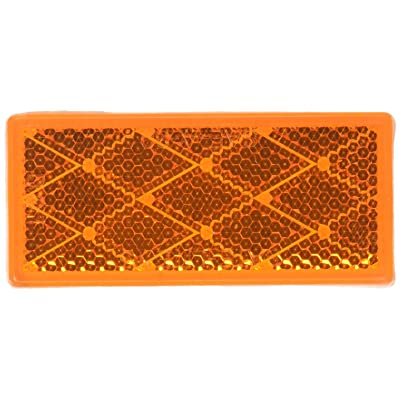 Grote 40303 Yellow Stick-On Rectangular Reflectors: Automotive