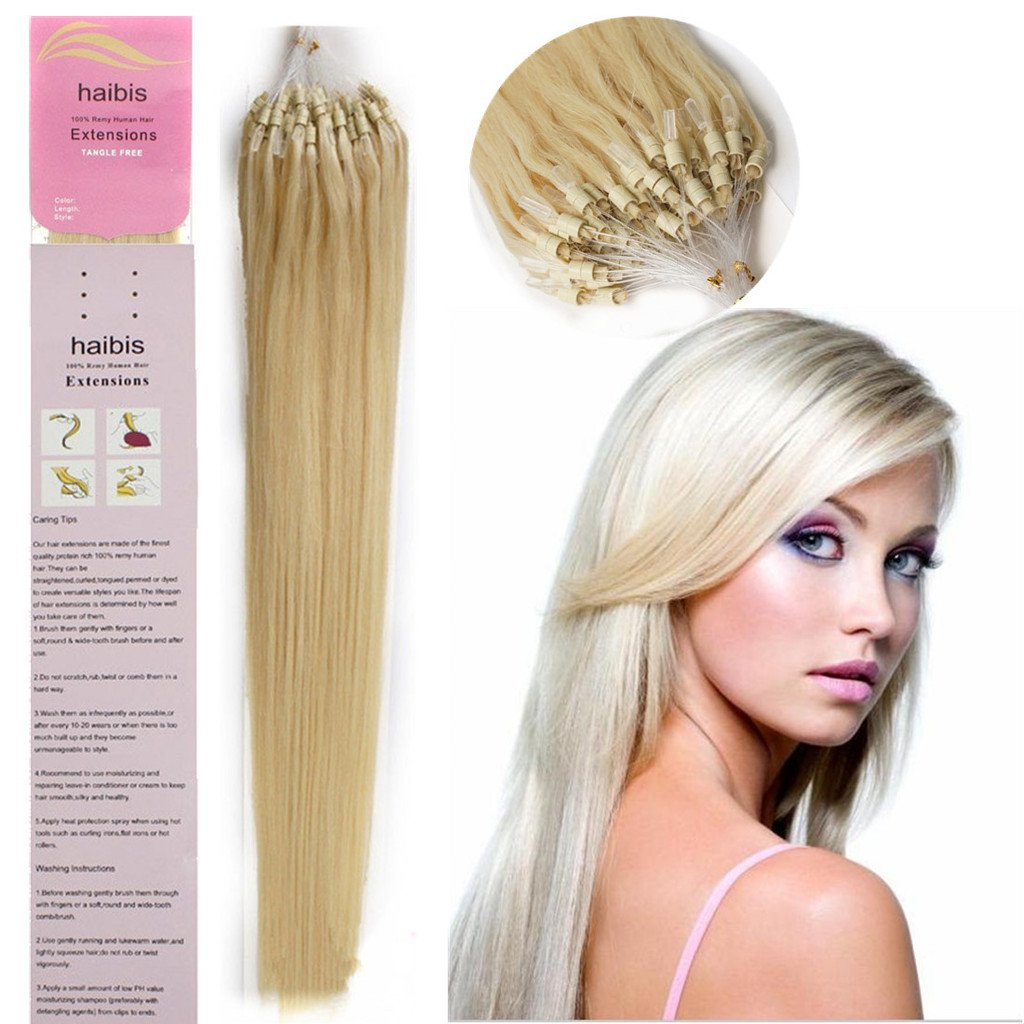 Lovely haibis 16 22 straight micro loop remy human hair lovely haibis 16 22 straight micro loop remy human hair extensions pmusecretfo Choice Image