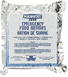 Mainstay Emergency Food Rations. One Pack.