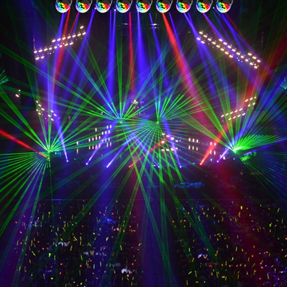 EJBOTH Discokugel 5W LED Party B/ühne Beleuchtung RGB Disco DJ Licht mit Fernbedienung f/ür Familienfeiern Freunde Parteien und Geburtstagsfeiern Deko Hochzeit Halloween Weihnachten Karaoke Club Bar