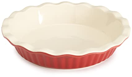 BRADSHAW INTERNATIONAL 04412 9\u0026quot; RED Ceram Pie Plate  sc 1 st  Amazon.com : pies and plates - pezcame.com
