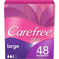 CAREFREE, Panty Liners, Large, Pack of 48