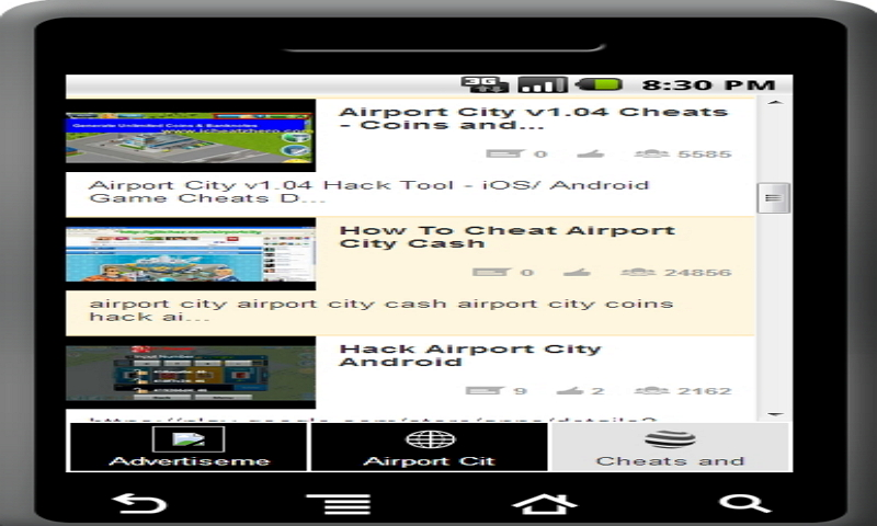 Amazon com: New Airport City Cheats & Tricks: Appstore for