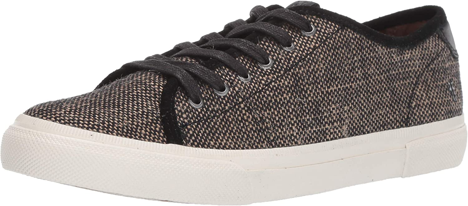 Gia Canvas Low Lace Sneaker