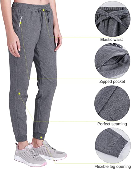 Amazon coupon code for Womens Active Jogger Pants Sweatpants