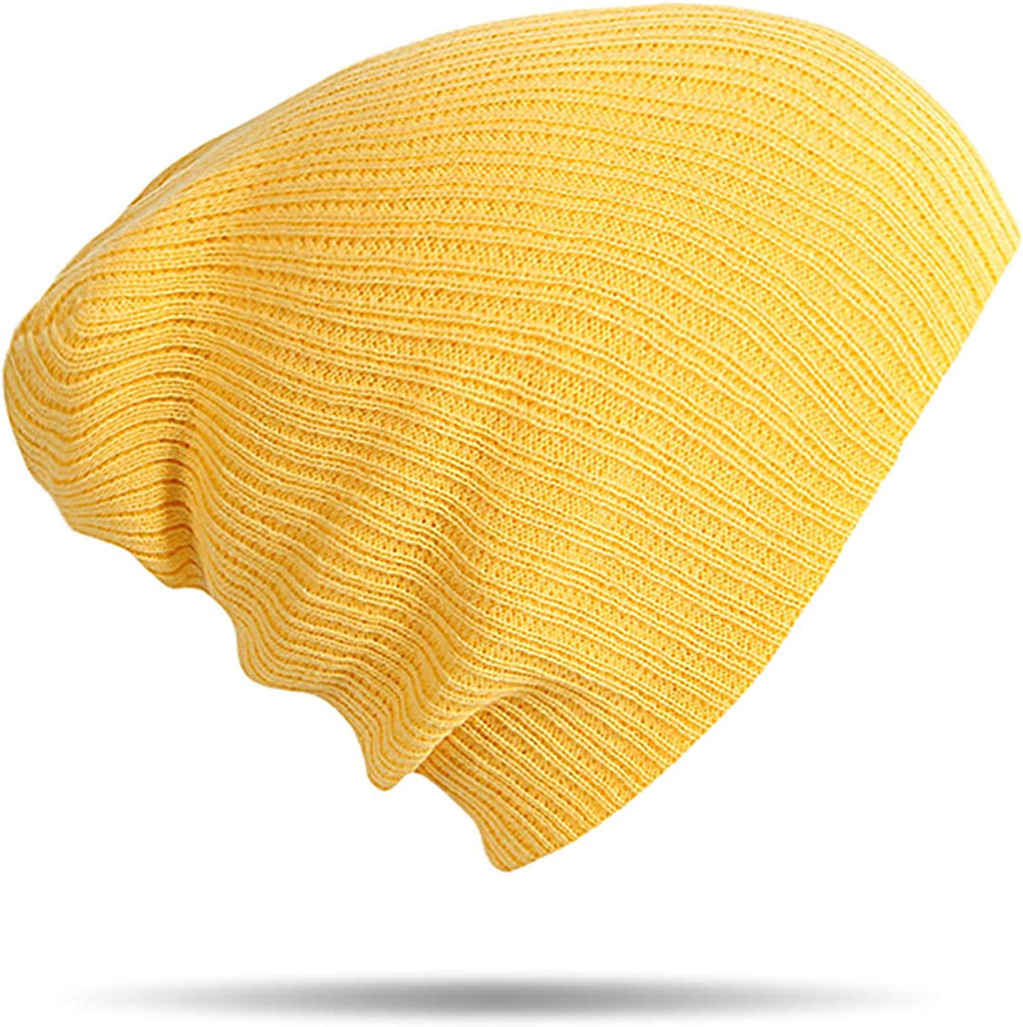 Winter Warm Beanies Hats Acrylic Hip Hop Soft Knitted Hat Female Cap for Boys Girls Outdoor Caps
