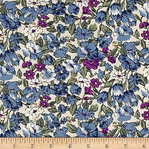 telio-hampton-court-cotton-shirting-floral-print-denim-coral-fabric-by-the-yard
