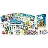 子供の英語学習・英会話学習プレミアムセット/DVD、本、絵本、フラッシュカード、歌のCD、アルファベット練習帳など教材のフルセット/聞く・話す・読む・書くの基本をマスター。Dino Lingo