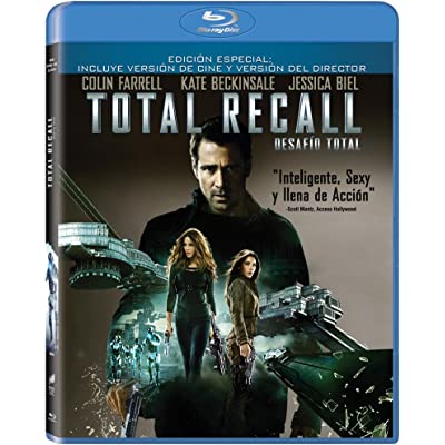 Total Recall (Desafío Total) [Blu-ray]