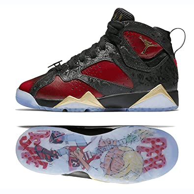 Nike Air Jordan 7 Retro DB DOERNBECHER BG (GS) 898650-015 Black  3330ad252