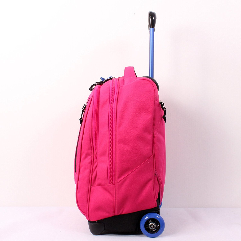 Trolley Backpack 36 LT WHEELED INVICTA TINDY Total disappeari Pink White