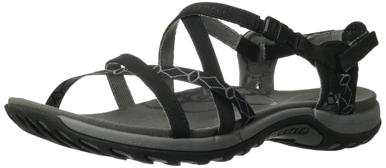 Merrell Women's Jacardia Sandal B008J547AC 6 B(M) US|Black