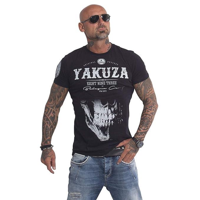 Yakuza Hombres Ropa Superior/Camiseta Daily Skull: Amazon.es: Ropa ...