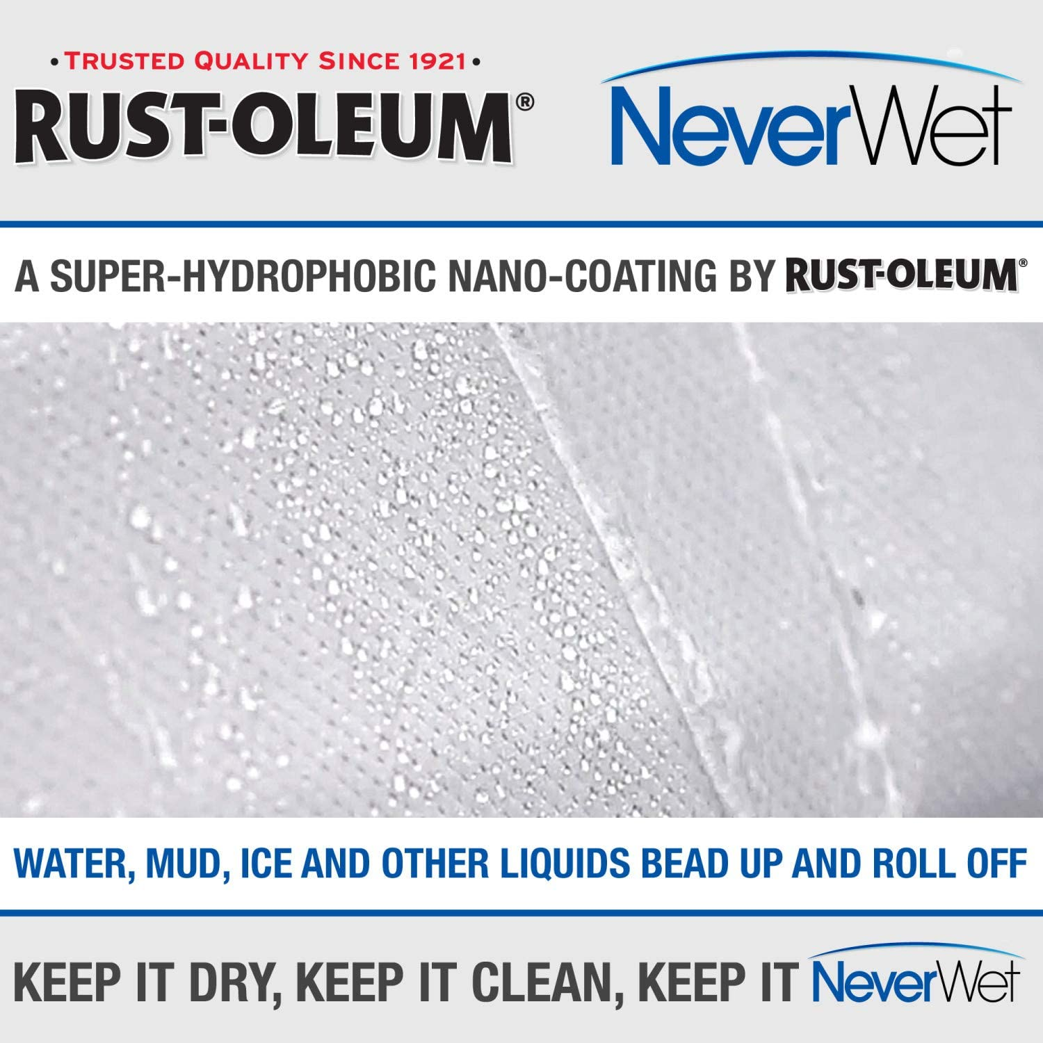 Budge RNWCSWF3 Rust-Oleum NeverWet Plus Station Wagon Cover Gray Size 3: Fits 18 100/% Waterproof Ultimate Outdoor Protection UV Treated Dustproof