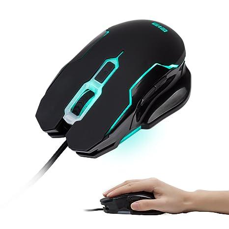 Gaming Teclado mecánico, Ele ergonómico teclado Gaming mecánico con RGB 104 teclas Wired USB aleación