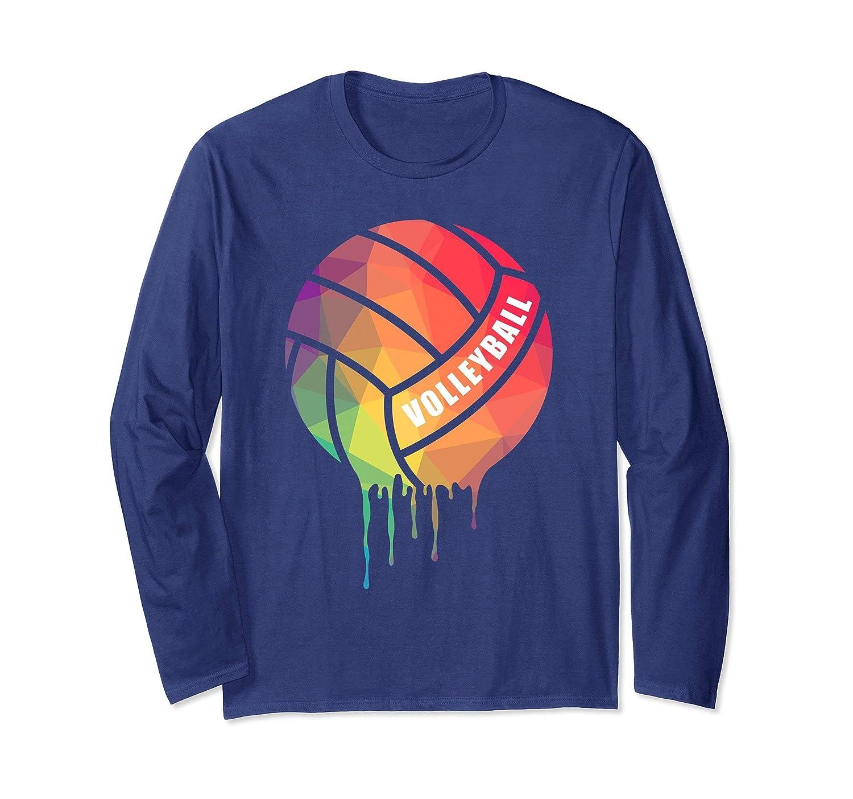 Cute Volleyball Long Sleeve T Shirt for Girls, Women-ln
