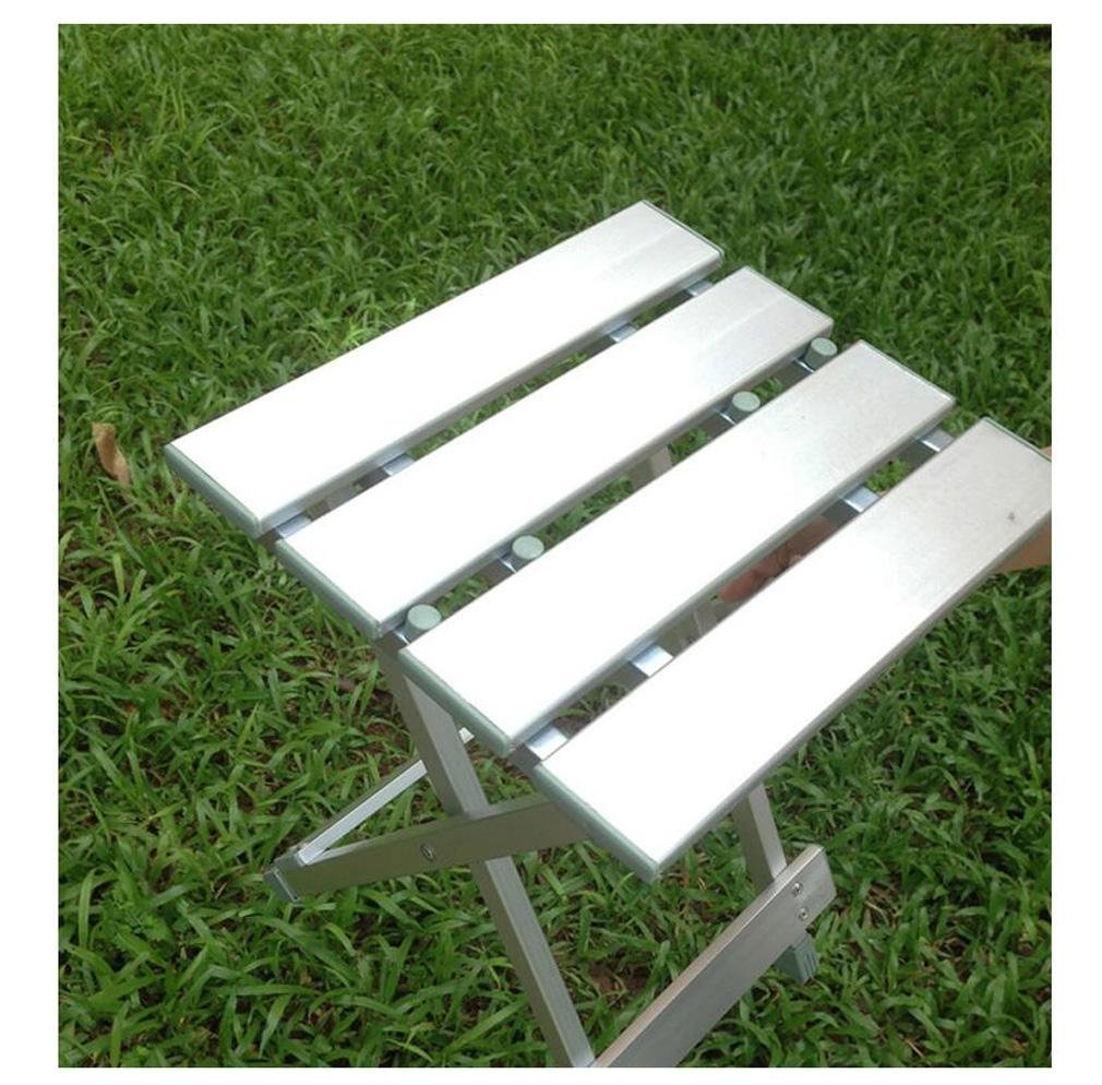 Heruai Aluminum Multifunctional Folding Stool Folding Chair Portable Fishing Stools Kids' Camping Chair Casual Stool Bearing Capacity Of 150Kg