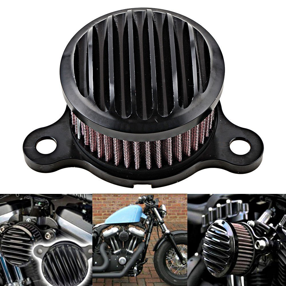 Sothat Motorcycle Air Cleaner Intake Filter For Harley Sportster XL 883 1200 2004