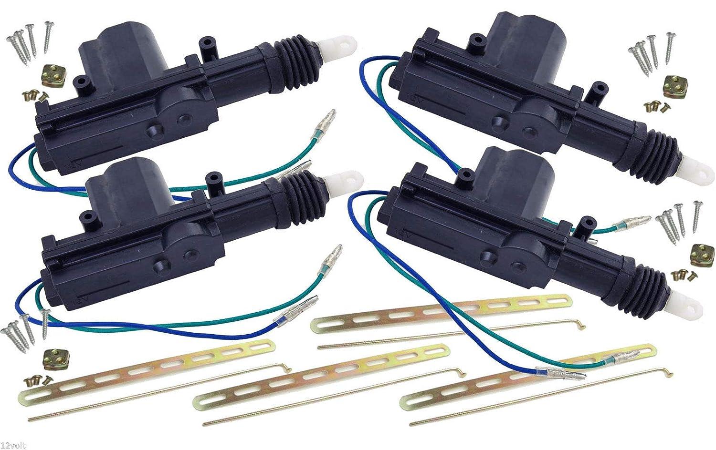 New UNIVERSAL POWER DOOR LOCK ACTUATOR MOTOR 12 volt 8.8lb Torq (6 PACK) 12Volt Distributors