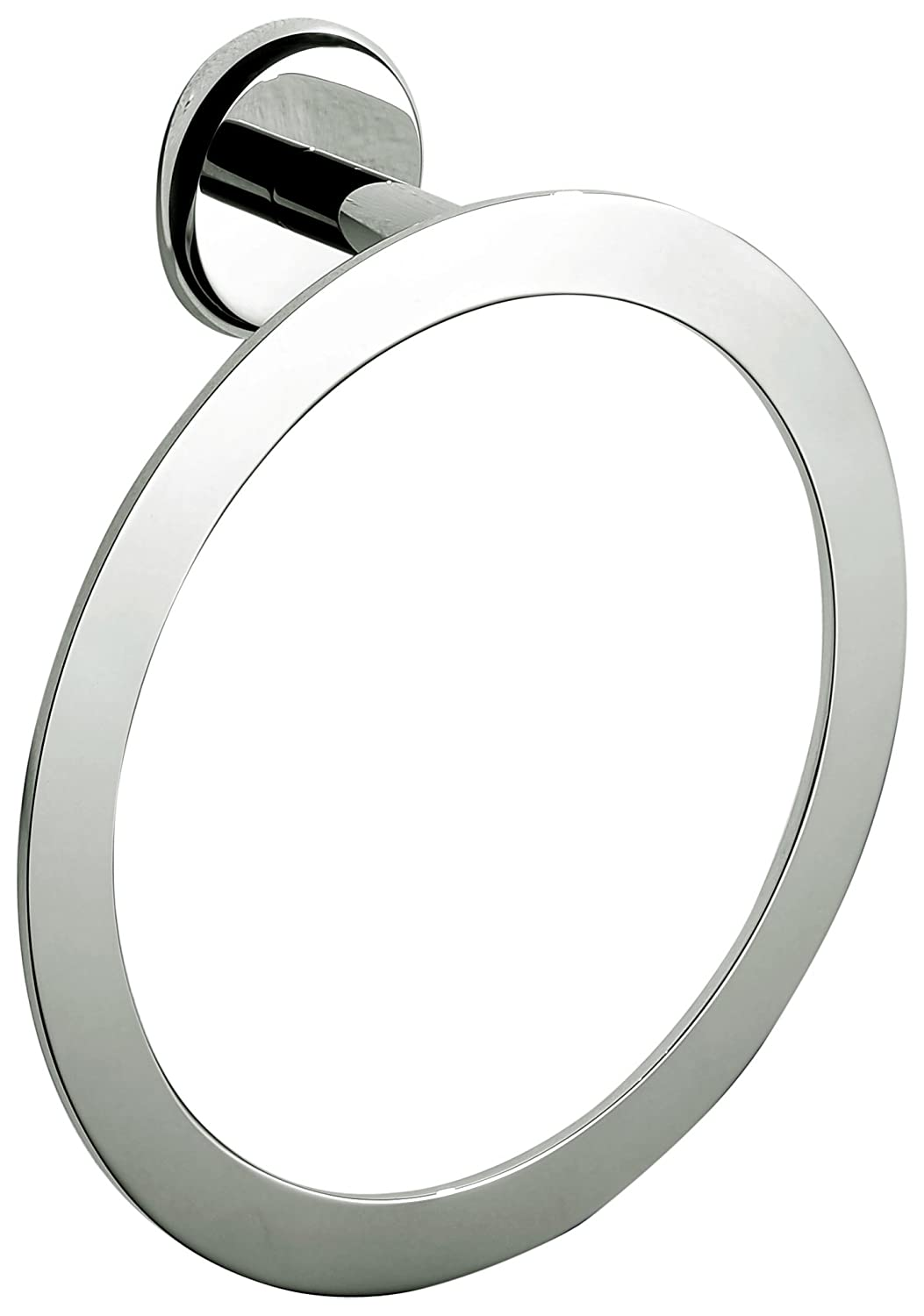 Dawn 98014006BN Series Towel Ring, One Size Brushed Nickel B01EW21OBA