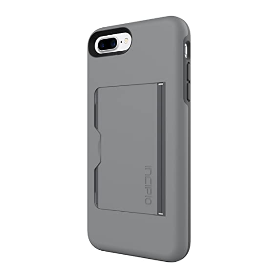 quality design fab0a 95091 iPhone 7 Plus Case, Incipio Stowaway Case for iPhone 7 Plus-Gray/Charcoal