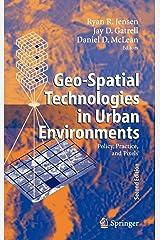 geo spatial technologies in urban environments jensen ryan r gatrell jay d mclean daniel