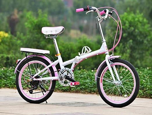 Bicicleta Bicicleta Plegable De 20 Pulgadas Bicicleta Hombres Y ...