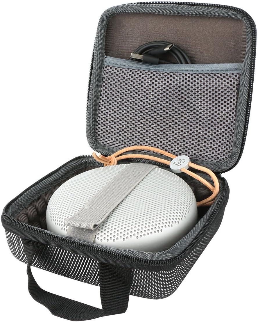co2CREA Duro Viajar caja estuche funda para Bang & Olufsen Beoplay A1 / Bang & Olufsen Beosound A1 Altavoz Bluetooth portátil(caja solo): Amazon.es: Electrónica