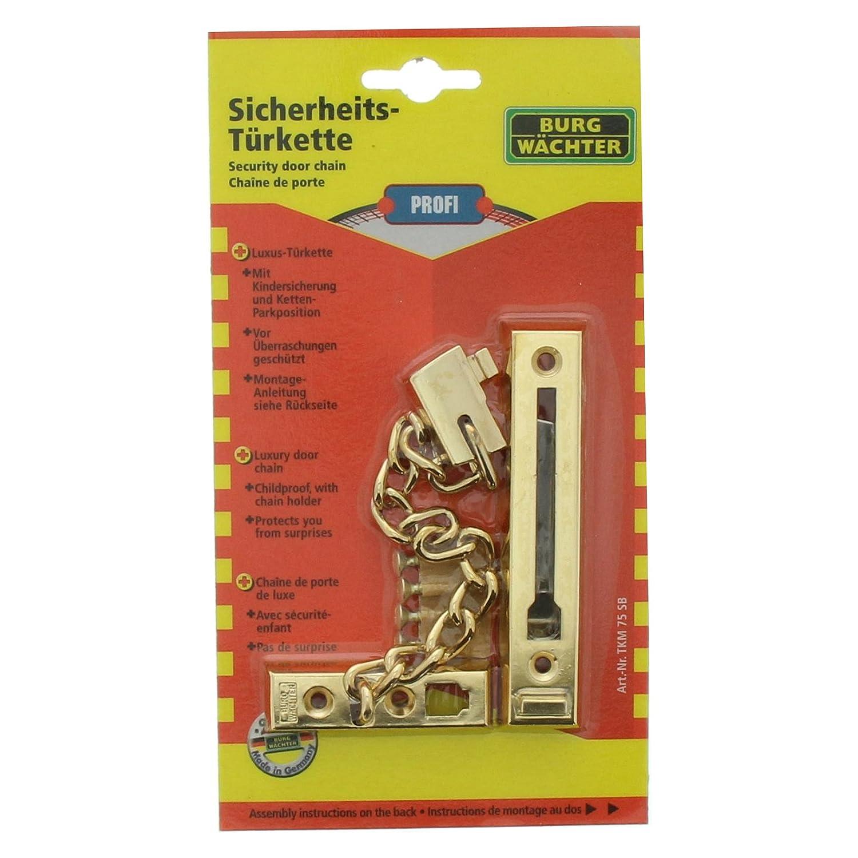 Cadena para puerta con cerrojo Burg-W/ächter TKM 75 SB