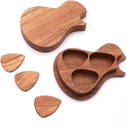 Bulufree - Juego de 3 palos de madera para guitarra eléctrica ...