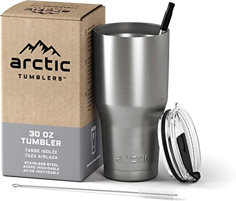 Glass stainless steel thermos portable glass universal cup sets