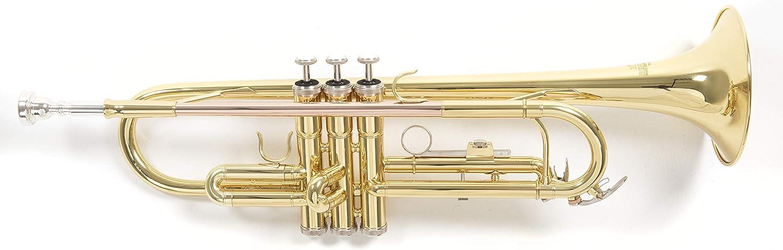 Bb-Taschen Trompete Blech Blasinstrument Messing Trumpet Leicht Koffer schwarz