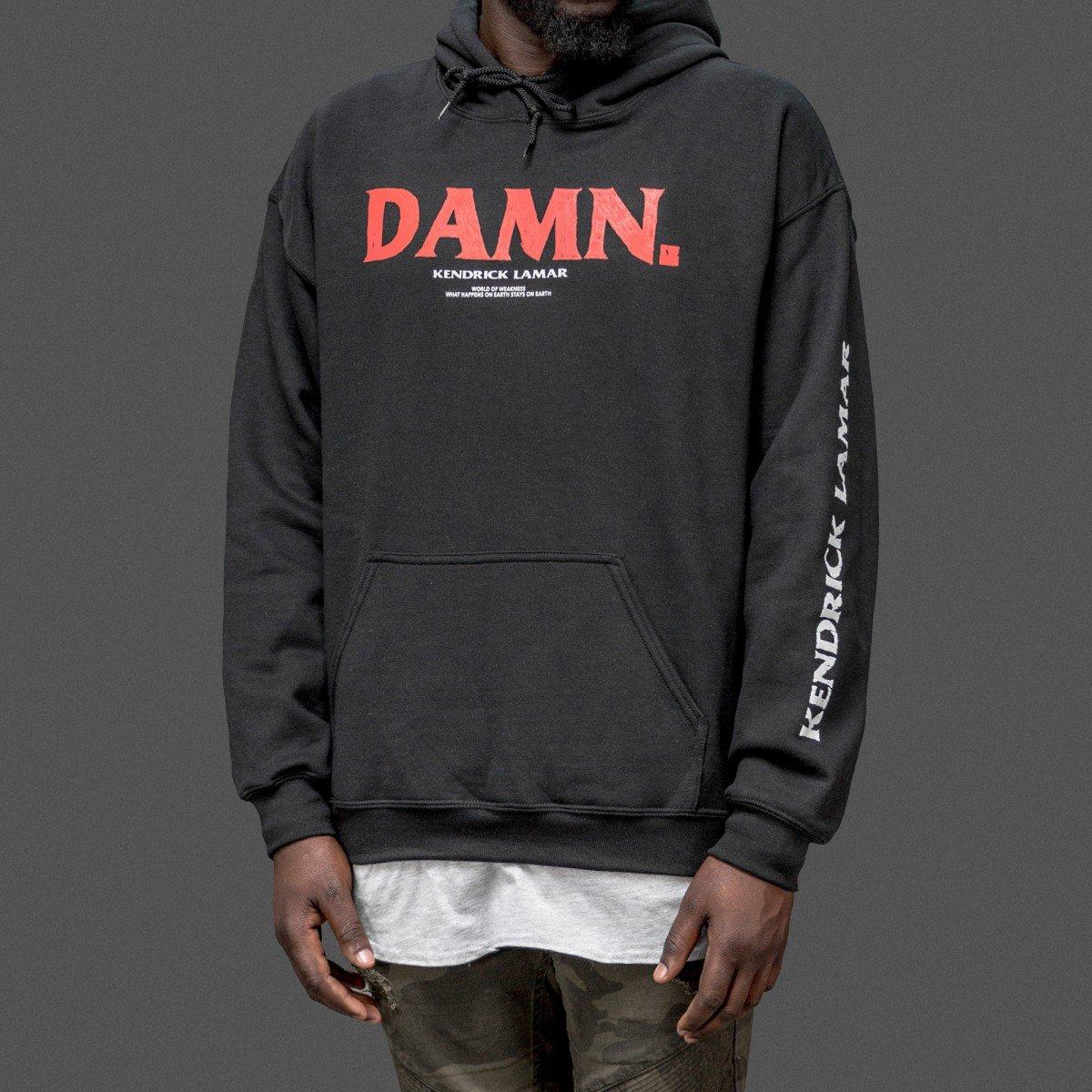 0c4c45c9 Kung Fu Kenny Damn Hoodie Hoody as Worn by Kendrick: Amazon.co.uk: Clothing