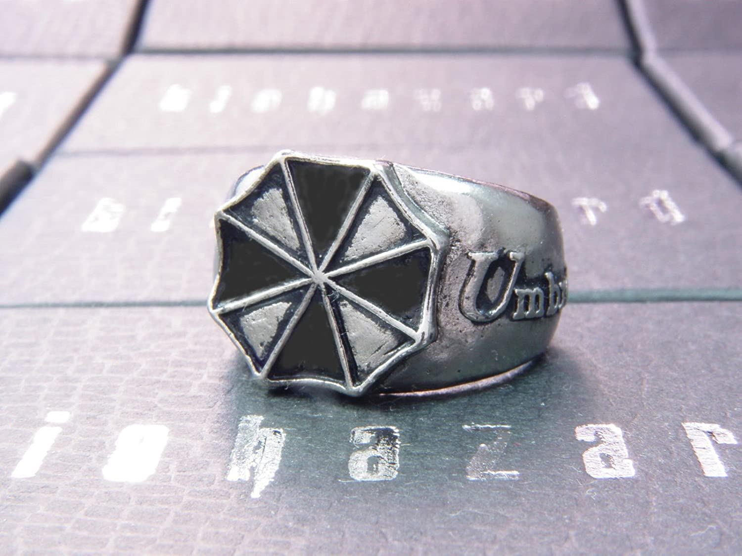 Cosplay Biohazard Leon Chris Jill Wesker Resident Evil Biohazard Umbrella Ring