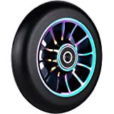 110mm Single 1 Pro Scooter Wheel with Abec 9 Bearings Fit for MGP/Razor/Lucky Pro Scooter -- 1PCS(Size:110mm)
