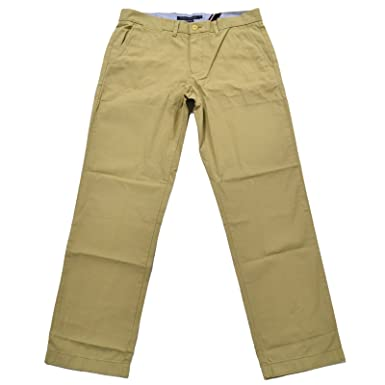 b4ed1755 Tommy Hilfiger Mens Classic Fit Chino Pants at Amazon Men's Clothing store: