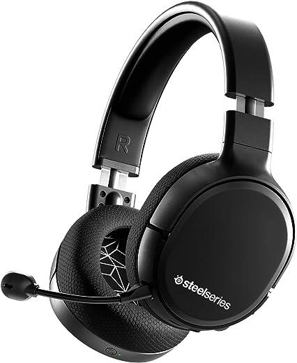 SteelSeries Arctis 1 Wireless Cuffie da Gioco Wireless USB-C Wireless, Microfono Clearcast Rimovibile, PlayStation 4, Senza Fili, 10 - 40.000 Hz, Nero