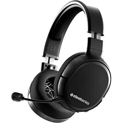 SteelSeries Arctis 1 Wireless – Auriculares inalámbricos para juegos – USB-C Inalámbrico – PC / PS4 / Nintendo Switch / Android – Negro