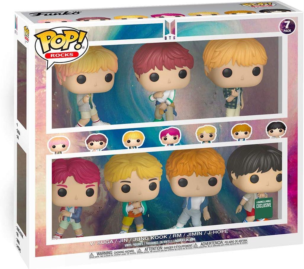 BTS FunKo Free Shipping! Pop Vinyl Figure 7 Pack