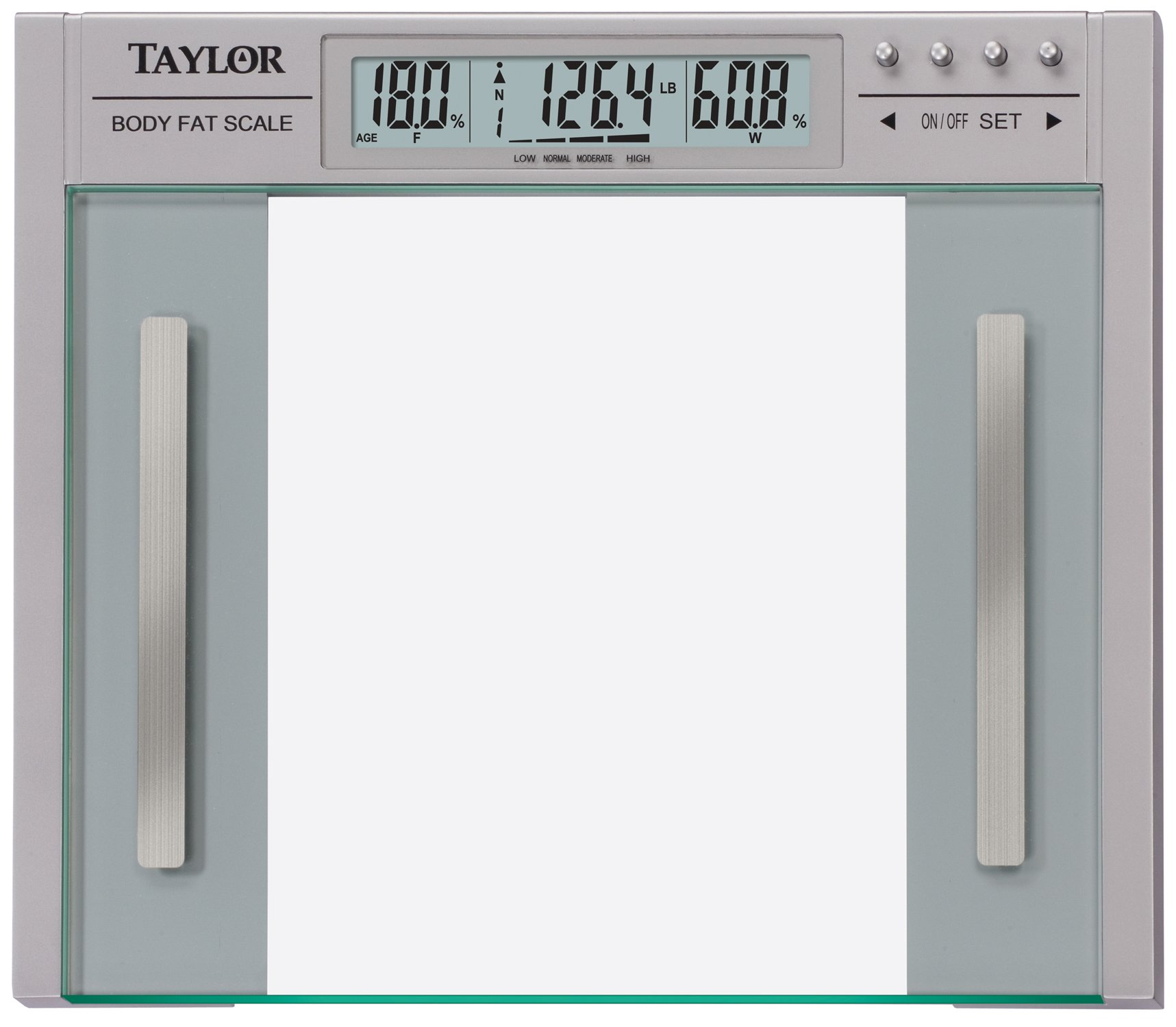 Taylo Body Fat and Body Water Large Profile Scale